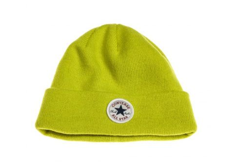 Шапка Converse Core Watchcap Carryover style 527376 цвет лайма