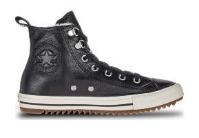 Кожаные кеды Converse Chuck Taylor All Star Hiker Boot 161512 черные