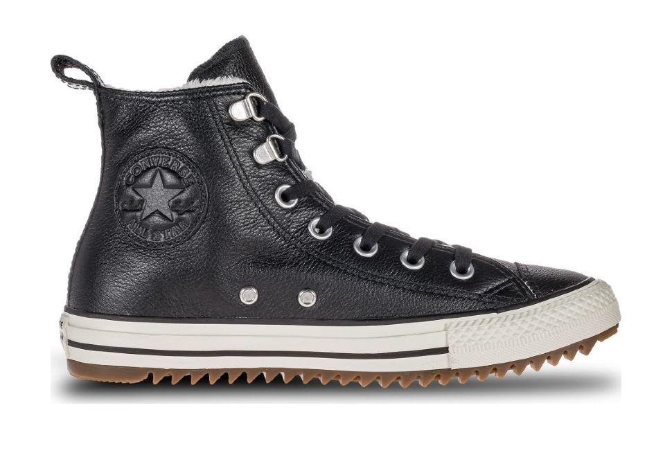 41fe92cd Кожаные кеды Converse Chuck Taylor All Star Hiker Boot 161512 черные ...