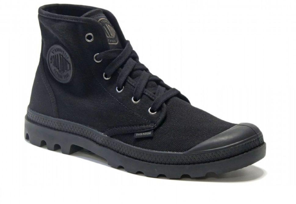 Мужские ботинки Palladium Pampa Hi 02352-060 черные - купить за 5 ... f46de7bf8d13a
