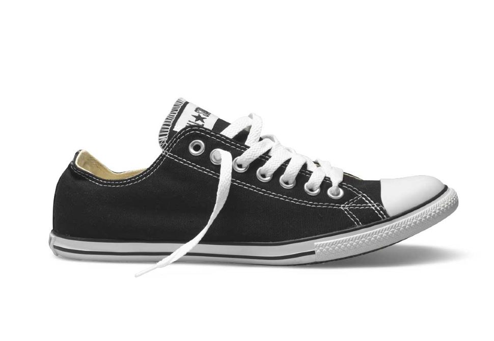 Кеды Converse (конверс) Chuck Taylor All Star Slim 113894 черные ... 006d349e72478