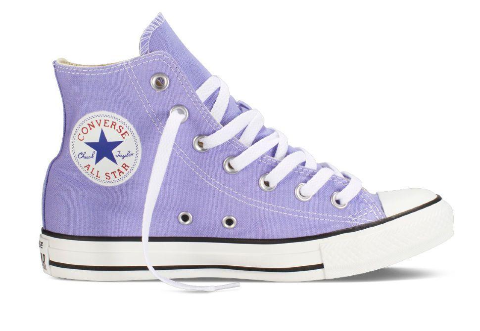 Кеды Converse (конверс) Chuck Taylor All Star 142364 лавандовые  nbsp Яркие  кеды - 8fbb190af7a
