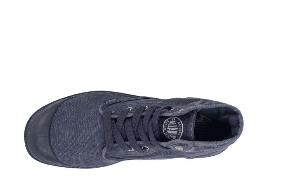 Мужские ботинки Palladium Pampa Hi 02352-075 синие - купить за 5 600 ... ed8601b4d61ca