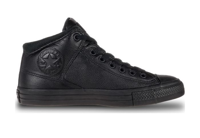 Кожаные кеды Converse Chuck Taylor All Star High Street 161473 черные