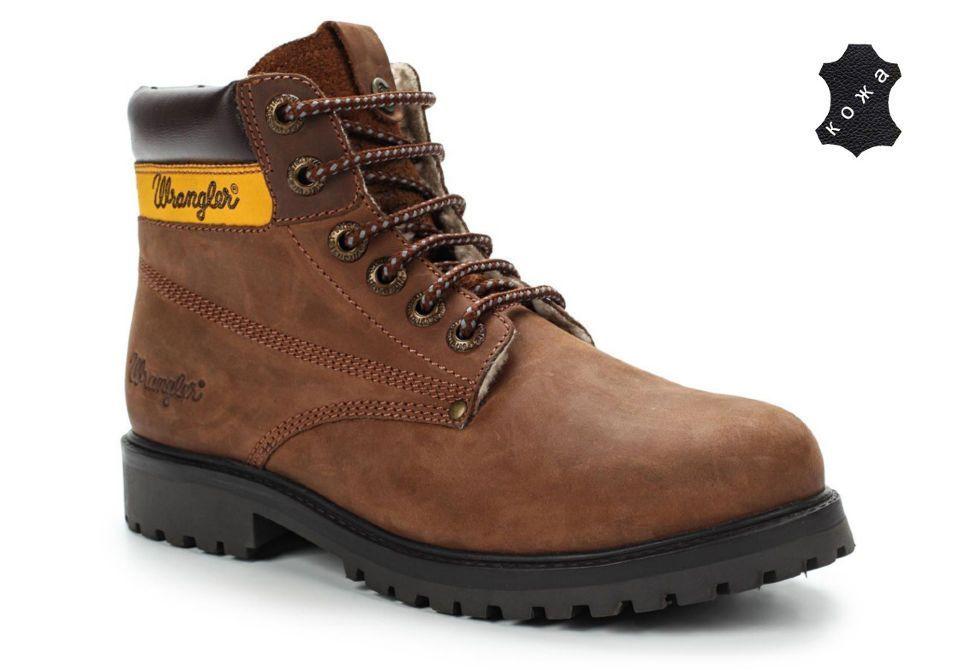 5816fa3a Зимние мужские ботинки Wrangler Hunter WM142986-115 коричневые ...