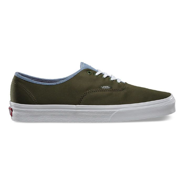 Кеды Vans Authentic VZUKFN7 зеленые