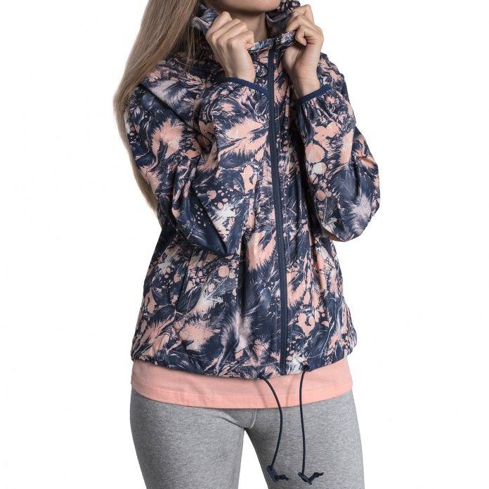 b93b76db357a Куртка женская Converse Feather Print Blur 2.0 Jacket 10005757689 цветная