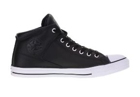 Кожаные кеды Converse Chuck Taylor All Star High Steet 149426 черные