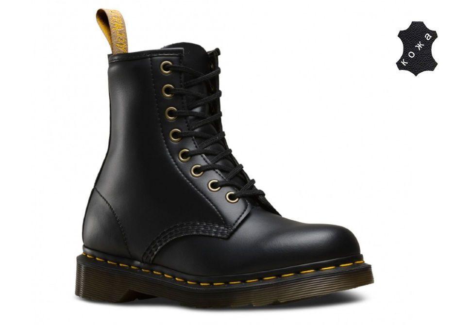 62b3c9db Кожаные ботинки Dr.Martens Vegan 1460 14045001 черные - купить за 14 ...