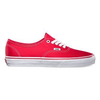 Кеды Vans AUTHENTIC VEE3RED красные