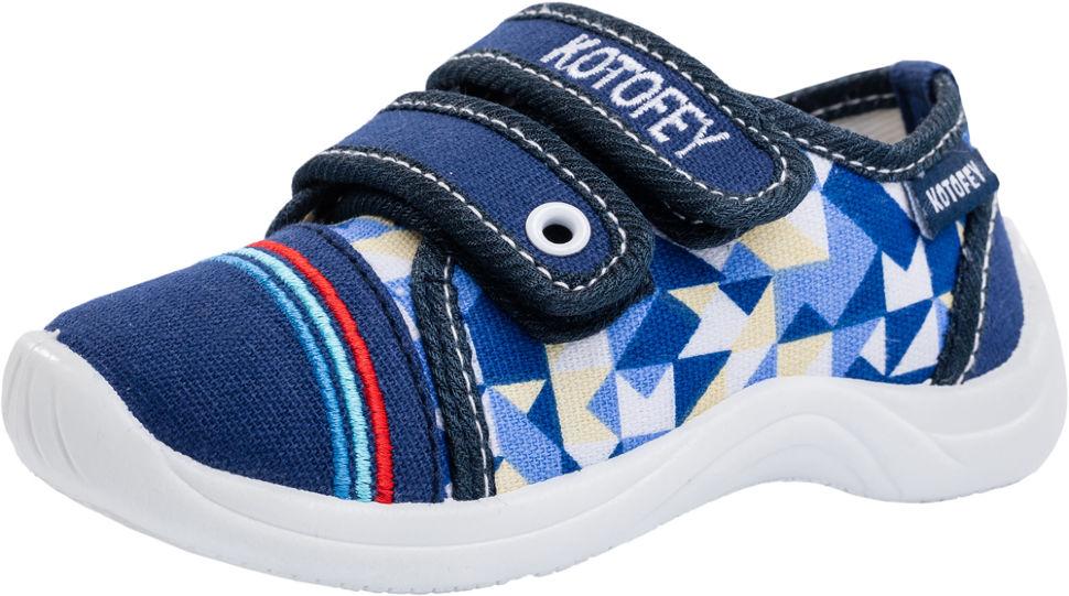388990dc5 Детские туфли Котофей 131099-13 для мальчиков синие - купить за 1 ...