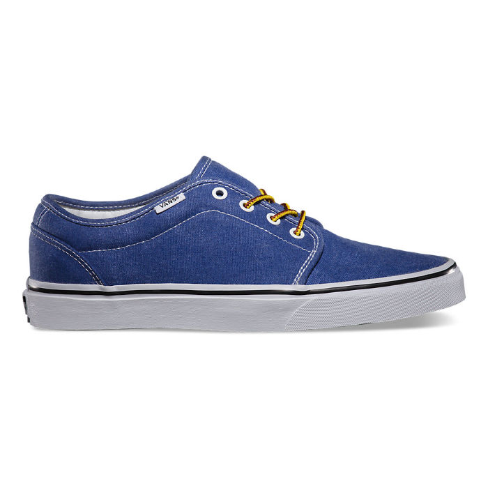 Кеды Vans 106 Vulcanized (Washed) VVHNC8T синие