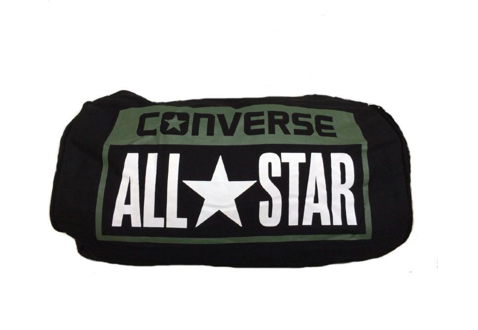 22d12155b3e5 Спортивная сумка Converse (конверс) Legacy Duffel черная - купить за ...