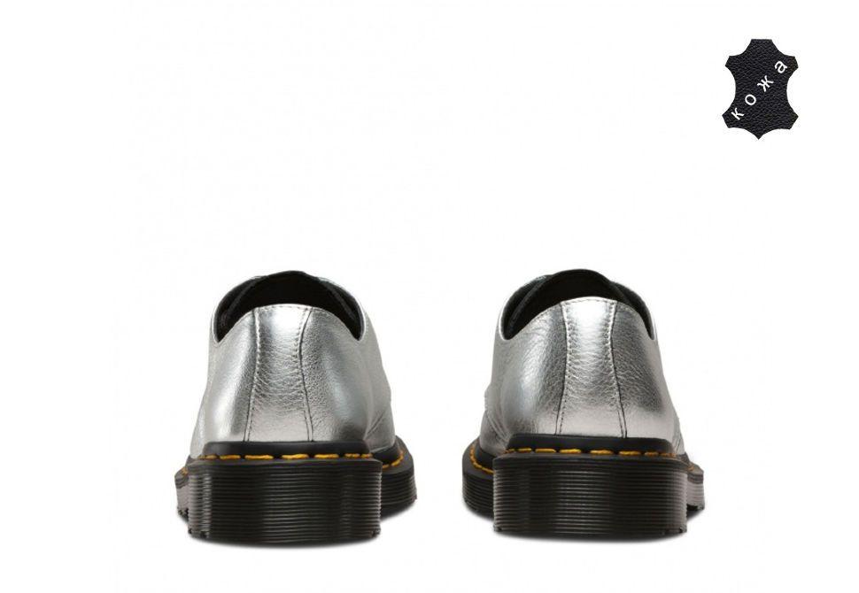 b62f3a5c Кожаные женские ботинки Dr.Martens 1461 MET 22960040 серебристые. Цена: 12  870 ...