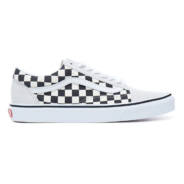 Кеды Vans OLD SKOOL Checkerboard VA38G127K бежевые