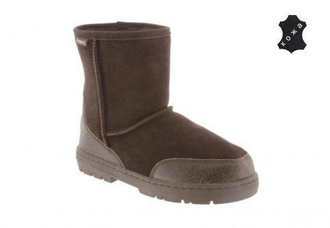 Мужские угги Bearpaw Patriot 1693M_chocolate