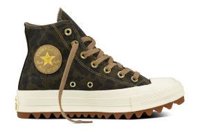 Кеды Converse Chuck Taylor All Star Lift Ripple 559896 зеленые