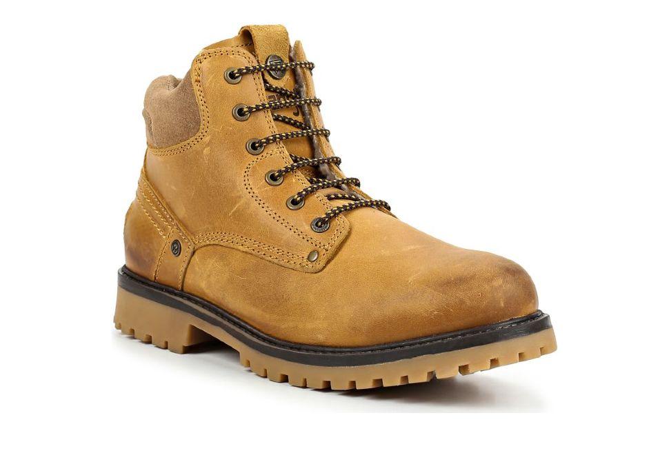 48c8727a5 Зимние мужские ботинки Wrangler Yuma Fur S WM182008-71 желтые ...