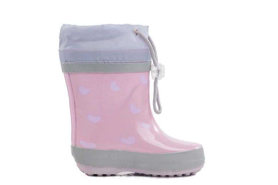 bb4e4f160 Детские резиновые сапоги Котофей 166066-11 для девочек розовые ...