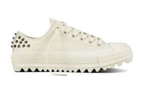 Кожаные кеды Converse Chuck Taylor All Star Lift Ripple 559897 белые