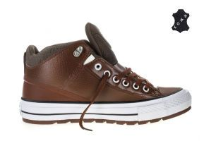Кеды Converse Chuck Taylor All Star Street Boot 157503 коричневые
