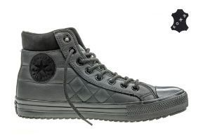 Кожаные кеды Converse Chuck Taylor All Star Converse Boot PC 153669 черные