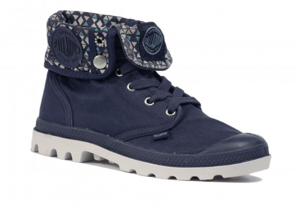Женские ботинки Palladium Baggy 92353-482 синие - купить за 3 360 ... 497947da7589c