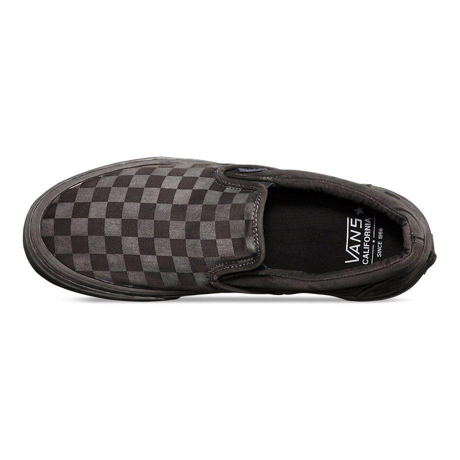 Кеды Vans Classic Slip-On CA VIL5BQN черные - купить за 3 690 руб. в ... fe3e1b5dfef44