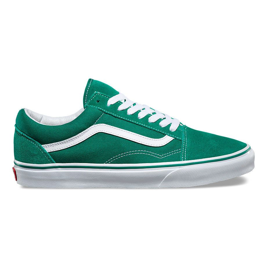 Кеды Vans Old Skool VA38G1MWI зеленые - купить за 4 193 руб. в ... 35529edac94ab