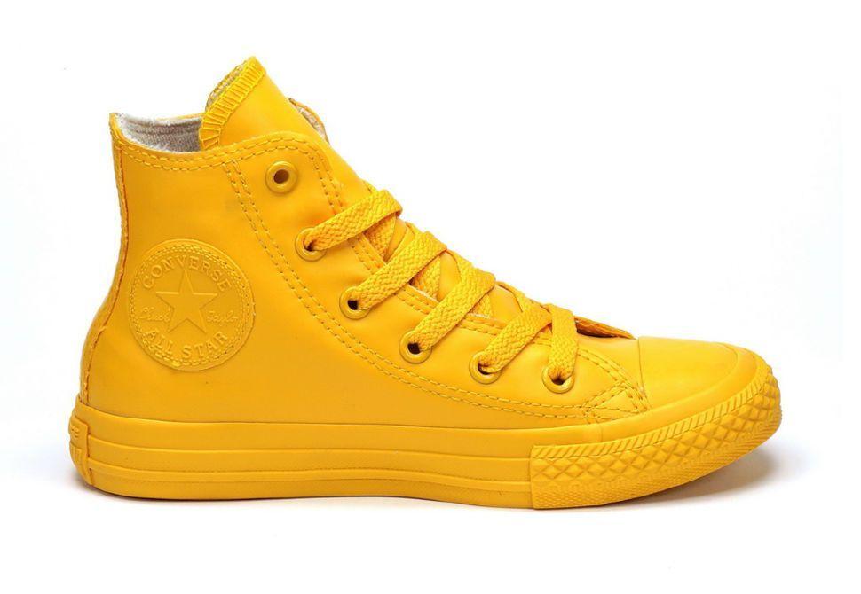 d8b7f26d27da8d Резиновые детские кеды Converse (конверс) Chuck Taylor All Star 344747  желтые