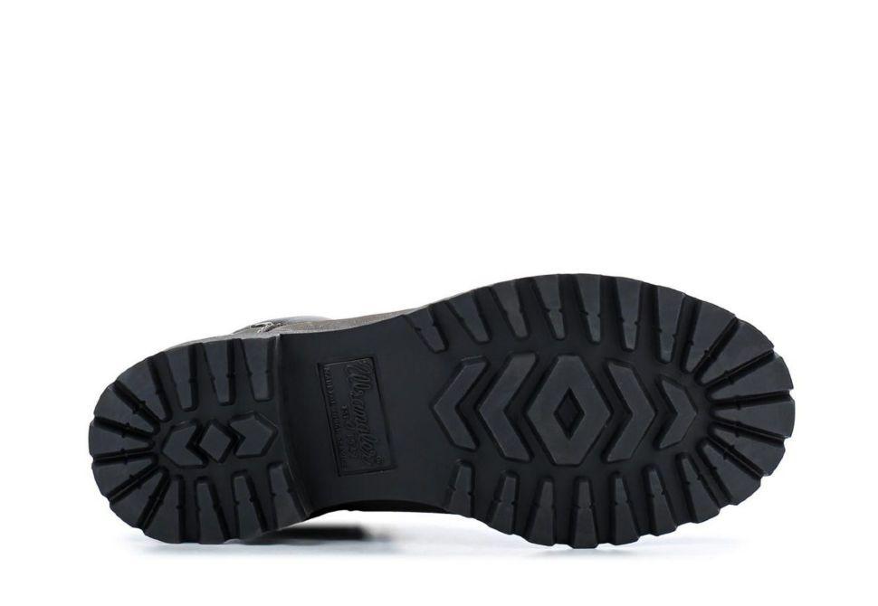 1a6b39e8 Зимние женские ботинки Wrangler Yuma Line Creek Fur Nubuck WL142500/F-96  черно-