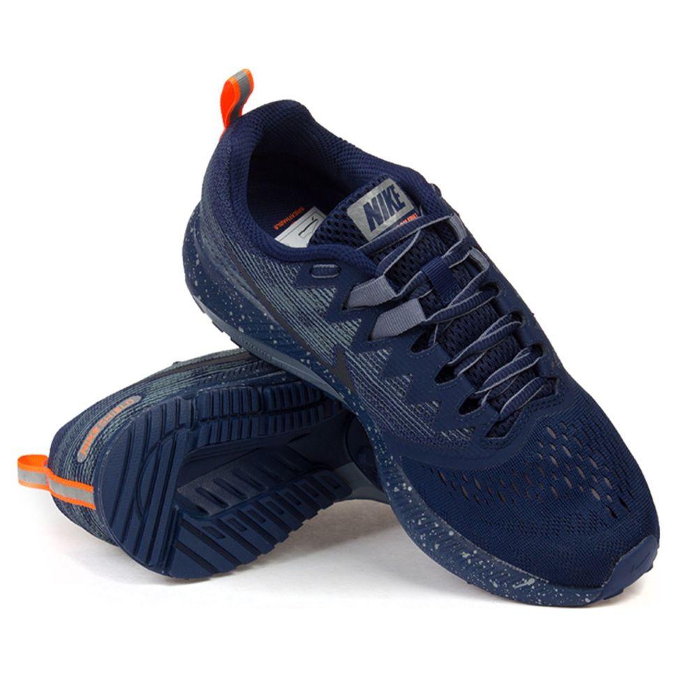 e8e903df Кроссовки мужские Nike Air Zoom Span 2 Shield 921703-400 спортивные беговые
