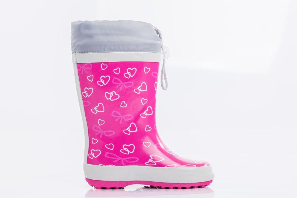 a94c86b17 Детские резиновые сапоги Котофей 166080-11 для девочек розовые ...
