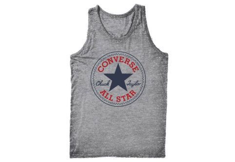 Майка мужская Converse Knitted Men's sleeveless tee 10002888035 серая