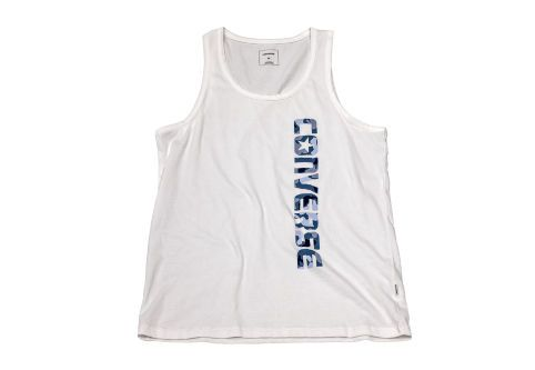 Майка мужская Converse Knitted Men's sleeveless tee 10003683102 белая
