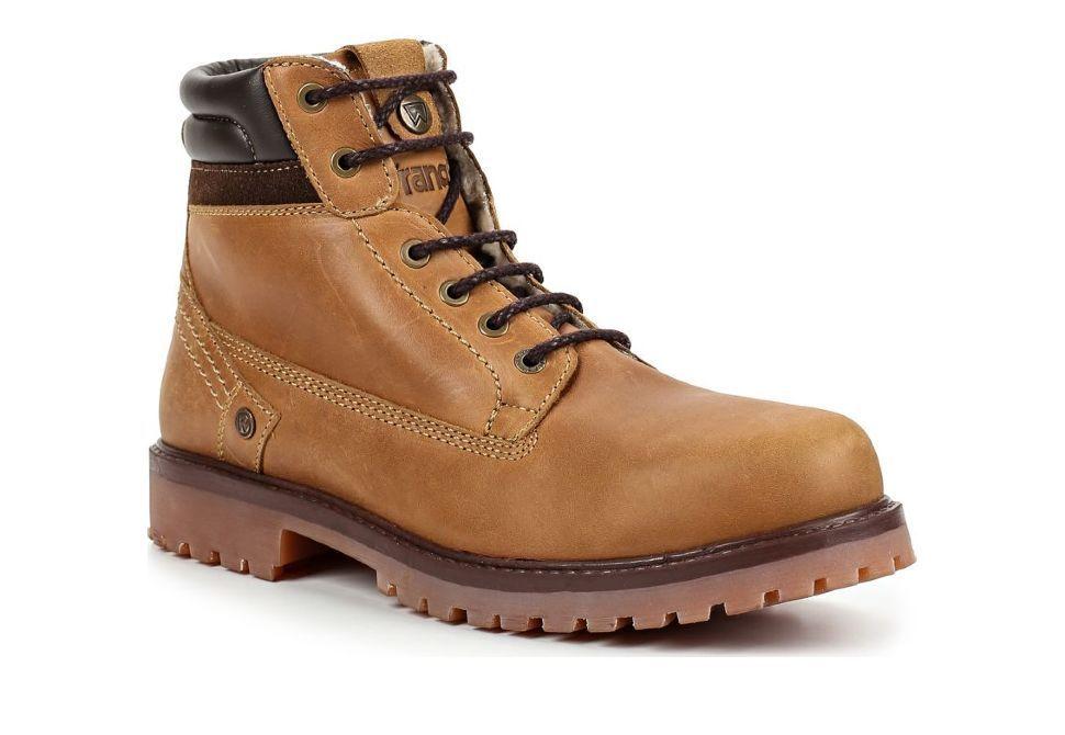 b82bf31de Зимние мужские ботинки Wrangler Yuma Creek Felt Fur WM182400-69 коричневые