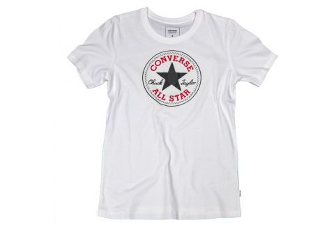 Футболка женская Converse Core Solid Chuck Patch Crew 10001124102 белая