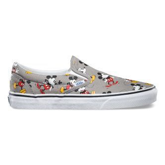 Слипоны Vans Classic Slip-On Disney V0MEGHG серые