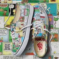 Кеды Vans UA AUTHENTIC PEANUTS VA38EMQQ2 разноцветные