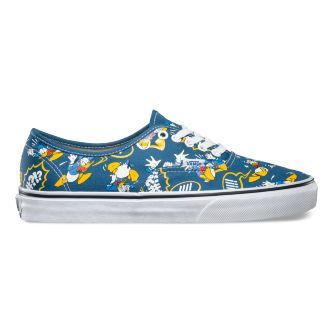 Кеды Vans Authentic Disney Donald Duck V18BGZ0 синие