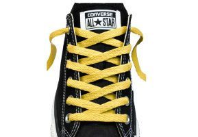 Шнурки converse (конверс) Low-Top Replacement желтые 114 см
