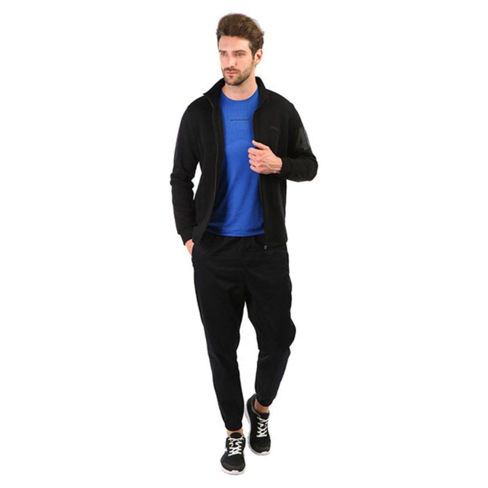 ff8ecf14 Свитшот мужской Anta 85911732-2 баскетбольный Спортивный костюм черный