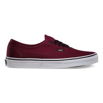 Кеды Vans AUTHENTIC VQER5U8 бордовые