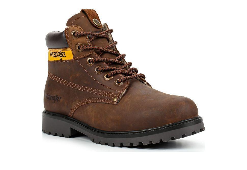 ffe6c8cfb Зимние мужские ботинки Wrangler Hunter WM182946-115 коричневые ...