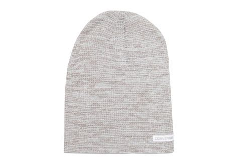 Шапка Converse Twisted Waffle Knit Beanie 486444 серая