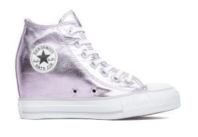 Кеды Converse CT AS Mid Lux Canvas Metallic 556779 розовые