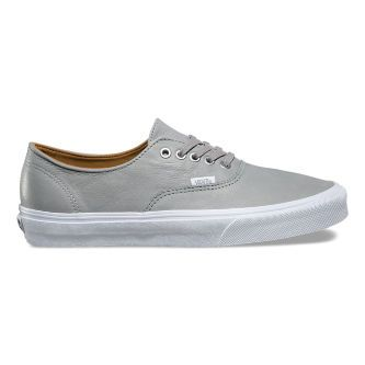 Кожаные кеды Vans Authentic Decon (Premium Leather) VA38EPMRZ серые