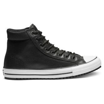 fc42cb75f608 Кеды Converse Chuck Taylor All Star Boot Pc 162415 кожаные высокие зимние  черные