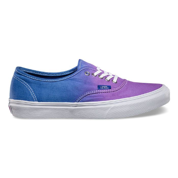Кеды Vans Authentic Slim (Ombre) VQEVBQQ синие