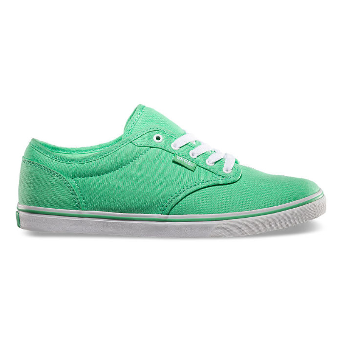 Кеды Vans ATWOOD LOW (Canvas) spring VU4IATS зеленые